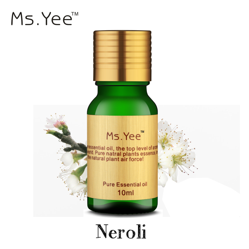100% Natural Pure Neroli Essential Oils (Orange Flower Oil) Undiluted Therapeutic Grade Hypnosis Removed Scar Stretch Marks 10ml