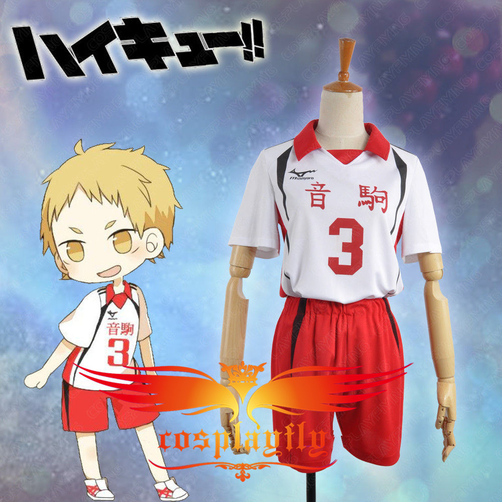 (Number can be changed) Anime Haikyu  Morisuke Yaku No 3 Cosplay Jersey Costume  Outfit Clothing For Adult (w0511-2)