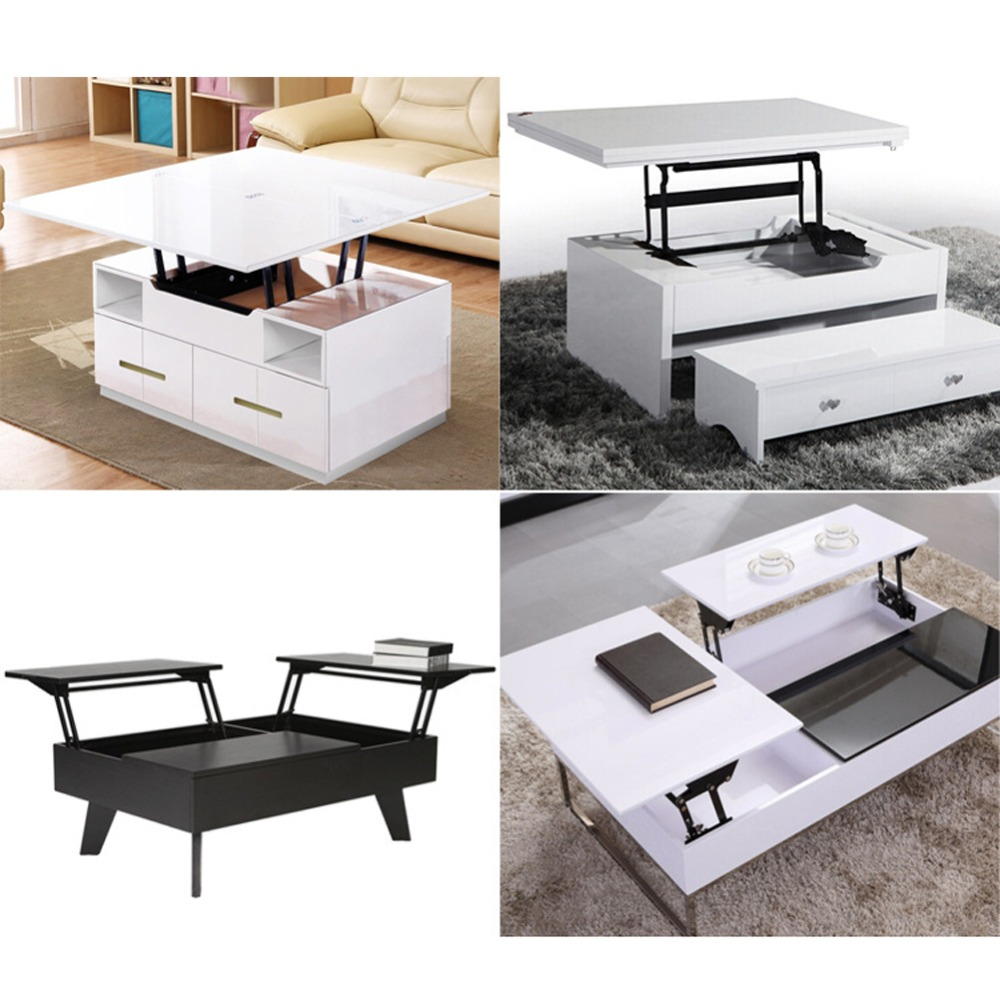 Us 20 78 16 Off 1pair Lift Up Top Coffee Table Lifting Frame Mechanism Spring Hinge Hardware Dropshipping In Tables From Furniture On