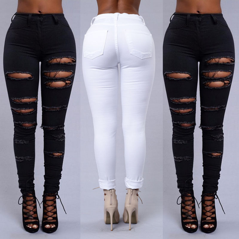 Online Get Cheap Ripped Jeans for Women Uk -Aliexpress.com ...