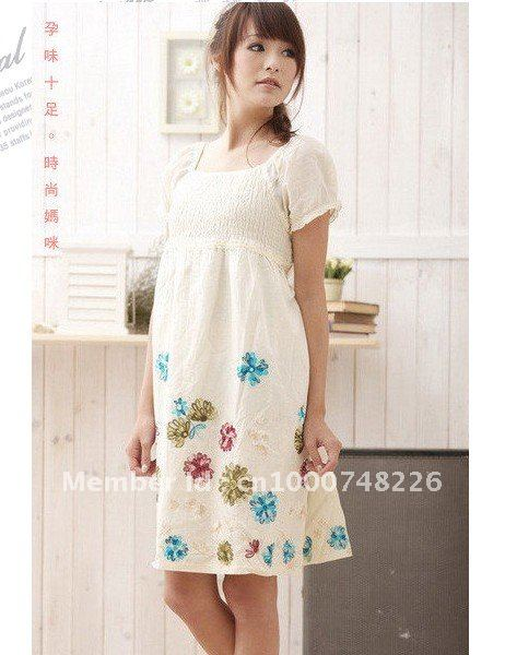 Aliexpress.com : Buy Maternity Dress, Fashion Cotton Pregnant ...