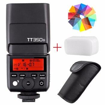 Godox TT350S 2.4G HSS TTL GN36 Wireless Speedlite Flash for Sony A7 A7R A7S A7 II A7R II A7S II A6300 A6000 + Color Filter