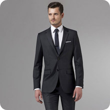 Formal Black Men Suits for Wedding Morning Party Groom Tuxedos Slim Fit Costume Homme Male Blazer Prom Wear 2Piece Coat Pants