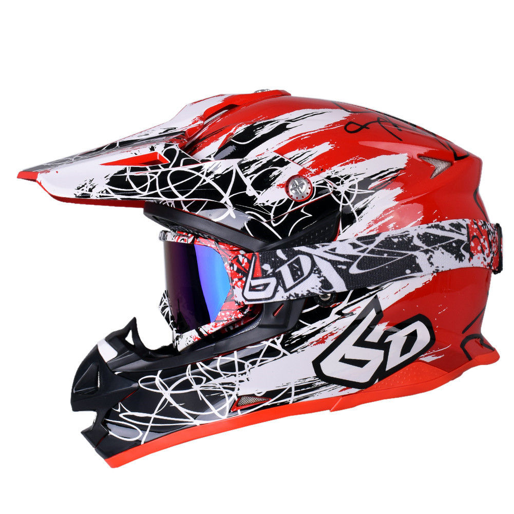 цена на Motocross Motorcycle Helmet Off Road Mountain Dirt Bike Full Face Helmet Moto Casque Casco Motocicleta Capacete MX ATV Helmets