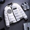 2015 nova moda mulheres meninas jaqueta parka outono inverno jaqueta curta mulheres jaqueta wadded casaco DX452