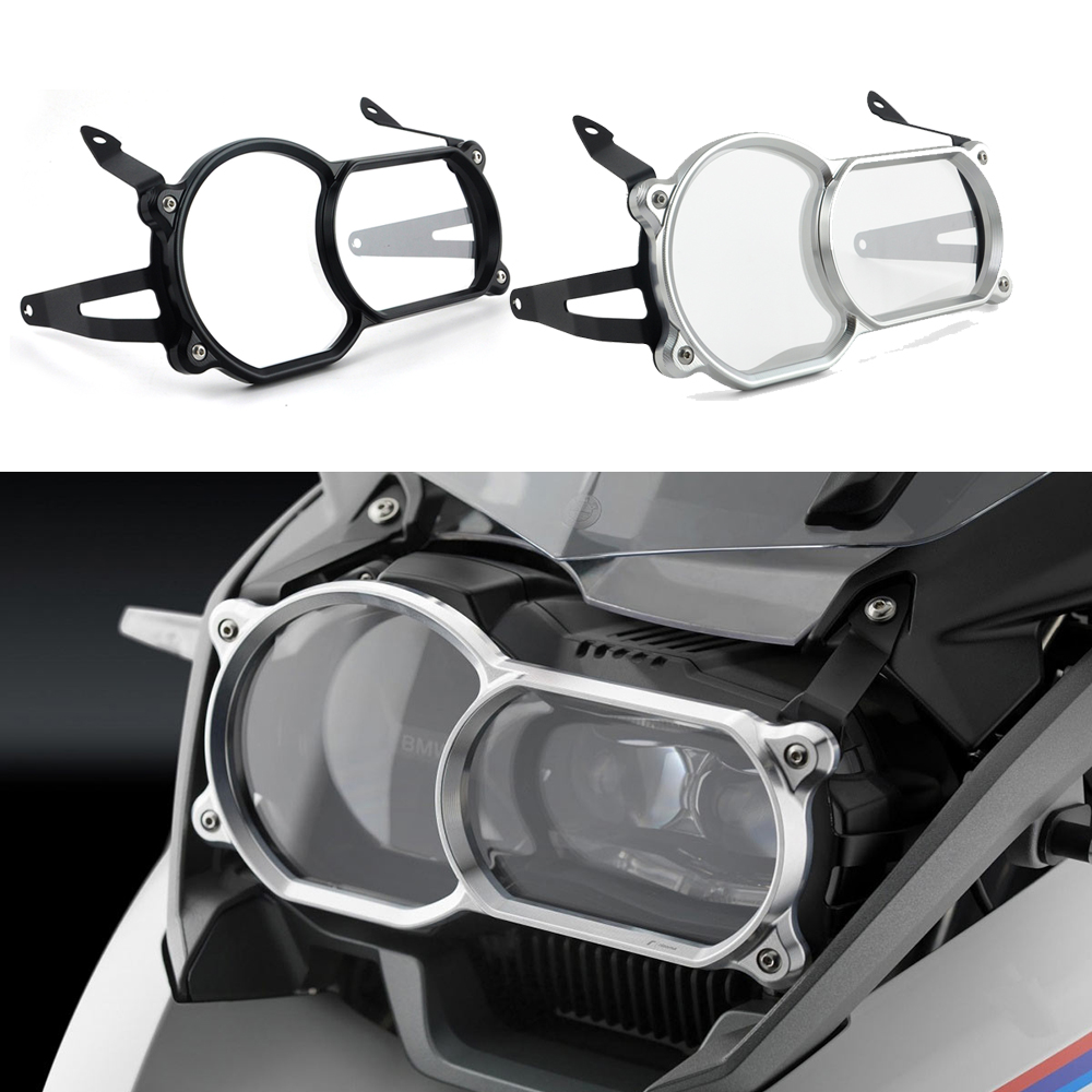 Motorcycle Headlight Guard Protector CNC Aluminum For BMW R1200GS LC 2013 2016 r1200gsa LC 2014 2016