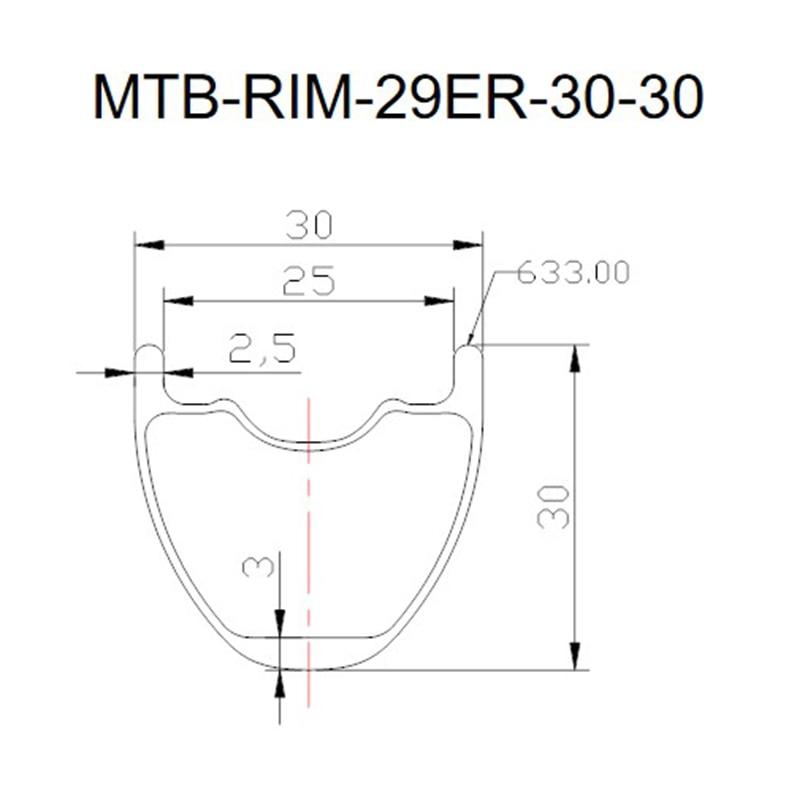 29er 30x30mm  380g