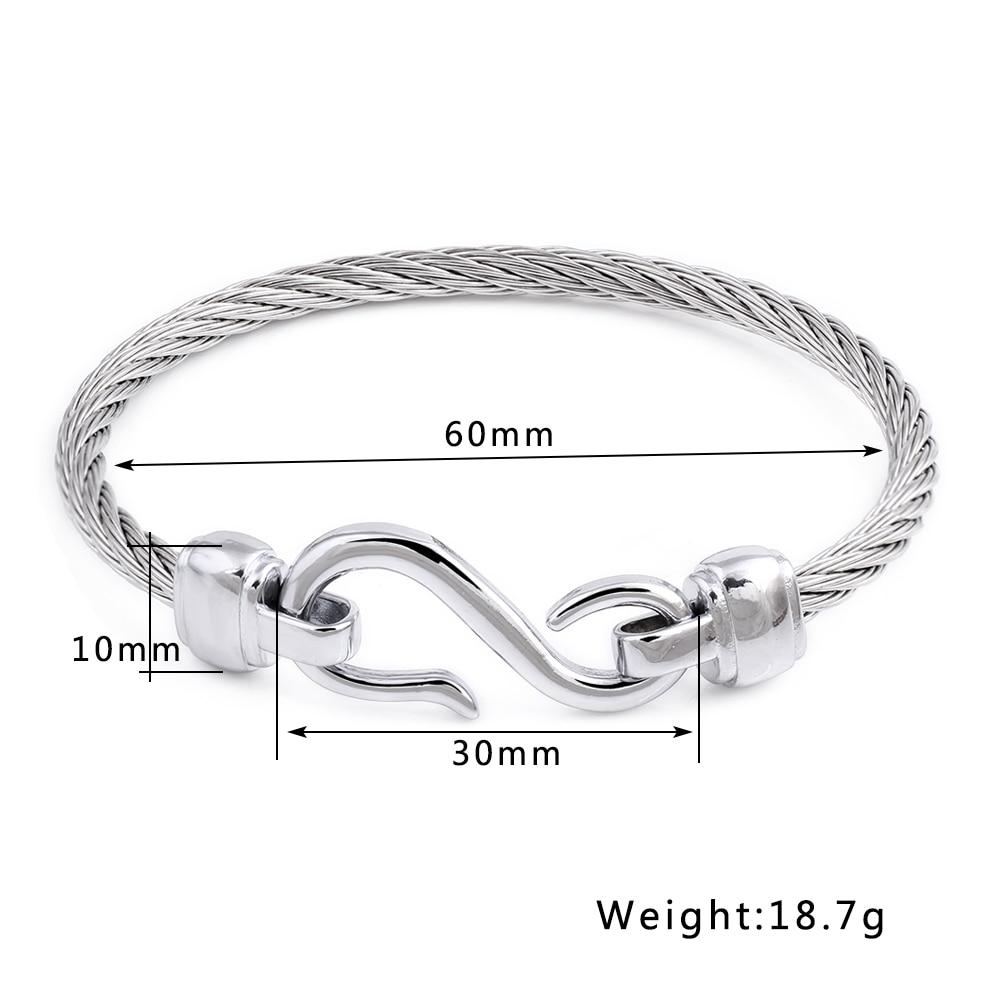 Fashion Charm Armbänder mit Edelstahlhaken Modeschmuck Infinity Love - Modeschmuck - Foto 3