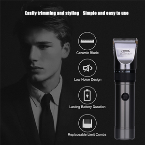 Image 2 - RIWA X9 Hair Trimmer Professional Rechargeable Hair Clipper Lithium Battery Electric Hair Cutting Machine + 1pcs extra blade S50