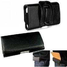 Горизонтальные сумки талии пояс Клип Кобура чехол для Samsung Galaxy S7 S7 край S6 S6 край S5 S5 мини S4 Мини S3 S2 Флип кожаный чехол