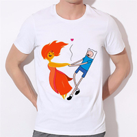 New Style Adventure Time T Shirts Men Paradise City Game Of Thrones T Shirt O Neck