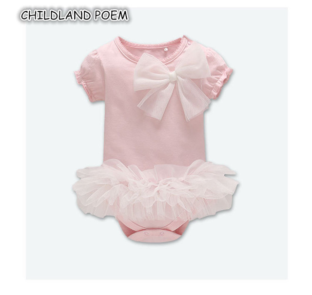 abaad886f Baby Girl Romper Summer 2018 Newborn Baby Clothes Girls 100% Cotton ...