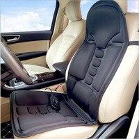 Electric Chair Massager Car Seat Vibrator Back Neck Massagem Cushion Heat Pad For Legs Waist Body Massageador