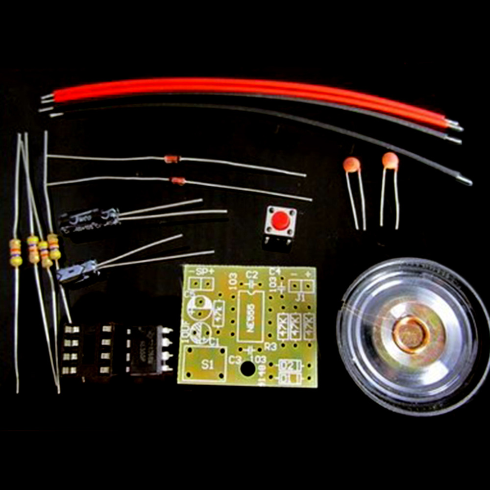 Perfect Doorbell Suite Electronic Production Doorbell Suite DIY Kit NE555 Wholesale