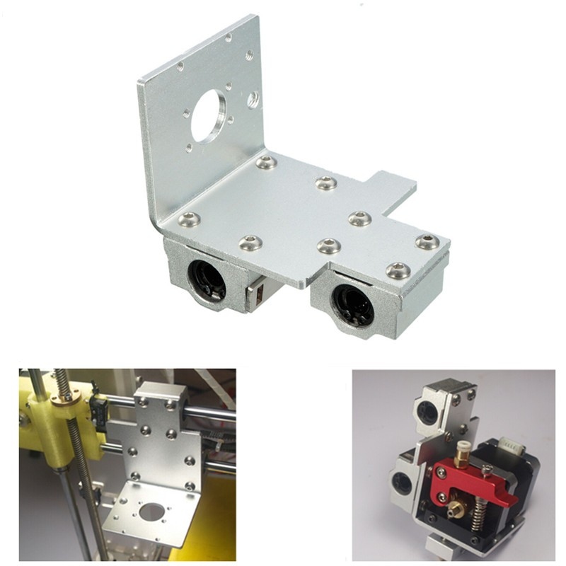 Brand New Reprap Prusa i3 3D Printer Parts X Axis Printing Head X Metal Exturder Carriage Aluminum A