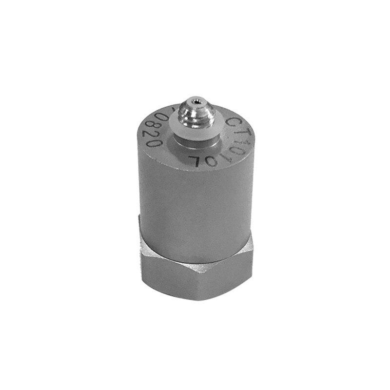 CT1010L ICP/IEPE capteur électrique piézo-électrique d'impact de Vibration de déplacement d'accéléromètre 50g