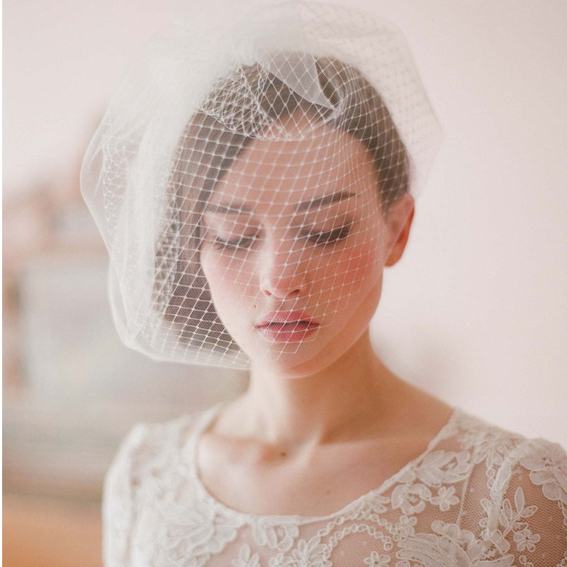 Beautiful Wedding Hat Veils Tulle Adult Bride Hats With