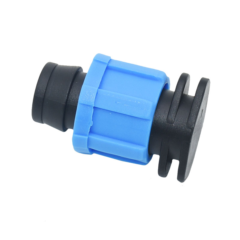 Greenhouse Drip Irrigation 16mm Drip Tape End Plug Screw 16mm Irrigation Drip Stopper 5/8 Water Seal Garden Hose Tools 5pcs
