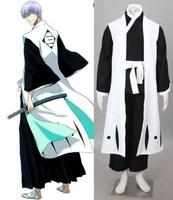 Bleach Ichimaru Gin kimono cosplay halloween Costumes