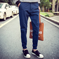 Men pants thin teenage boy trousers 2017 new spring autmn male casual straight health cheap pants student plus size