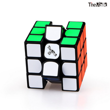 Qiyi The Valk3 M speed cube 3x3x3 magnetic Black/stickerless professional cubo magico toys for kids Valk 3 puzzle magnet