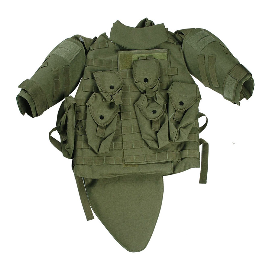 US Army Tactical Airsoft Paintball Plate Carrier OTV Combat Vest Army Green