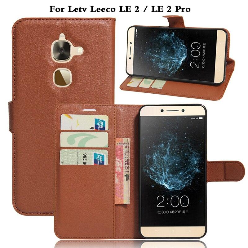 Leeco LE 2 Case Cover Original Leather Wallet Flip Case for Letv Leeco LE 2 LE2