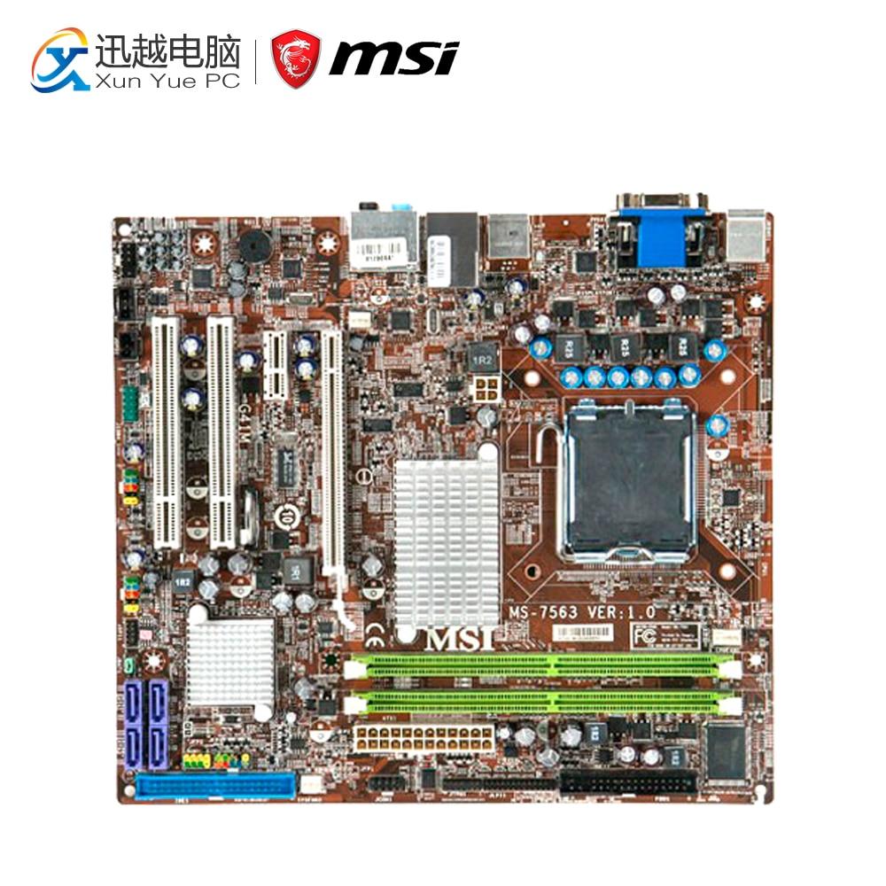 все цены на MSI G41M-FD Desktop Motherboard G41 Socket LGA 775 DDR2 4G SATA2 USB2.0 Micro-ATX