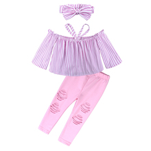 Kids Baby Girl Top + Pants Outfits Clothes