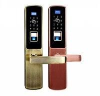 Доступа Управление дверь Hotel Lock APP дистанционного Управление/Пароль/ID Card/отпечатков пальцев/ключ/голосовой навигации открыть замок