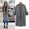 Casual Autumn Burderry Plus Size Women Clothing Fashion Long Cardigan Trench Female New 2016 Hot Sale Ladies Linen Cotton Coats