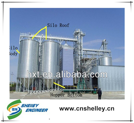 US $5000 0 |Hopper Bottom Grain Storage Steel Silo Bins Used With Best  Price For Sales on Aliexpress com | Alibaba Group