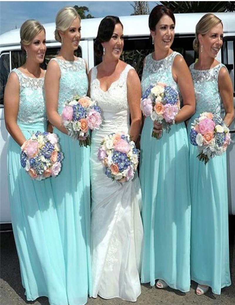 Fine Beach Bridesmaids Dresses Adornment - All Wedding Dresses ...