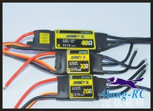 free shipping - HTIRC HOANET 12A 20A 30A 40A 50A brushless ESC  for RC model airplane hobby 3D RC PLANE