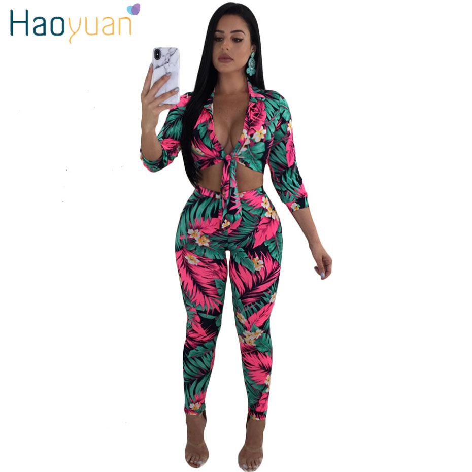 dc166cefff77b New Floral two-piece summer outfitfaithinkapparel.comNew Floral two ...