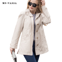 New Ladies Coats Women Fashion Jacket High Quality Spring Autumn Casual Jacket Solid Color Plus Size