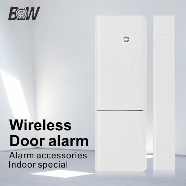 New Wireless Wifi Home Security Alarm System Mini Door Sensor Window Sensor Accessory Siren for Smart Camera Free Shipping