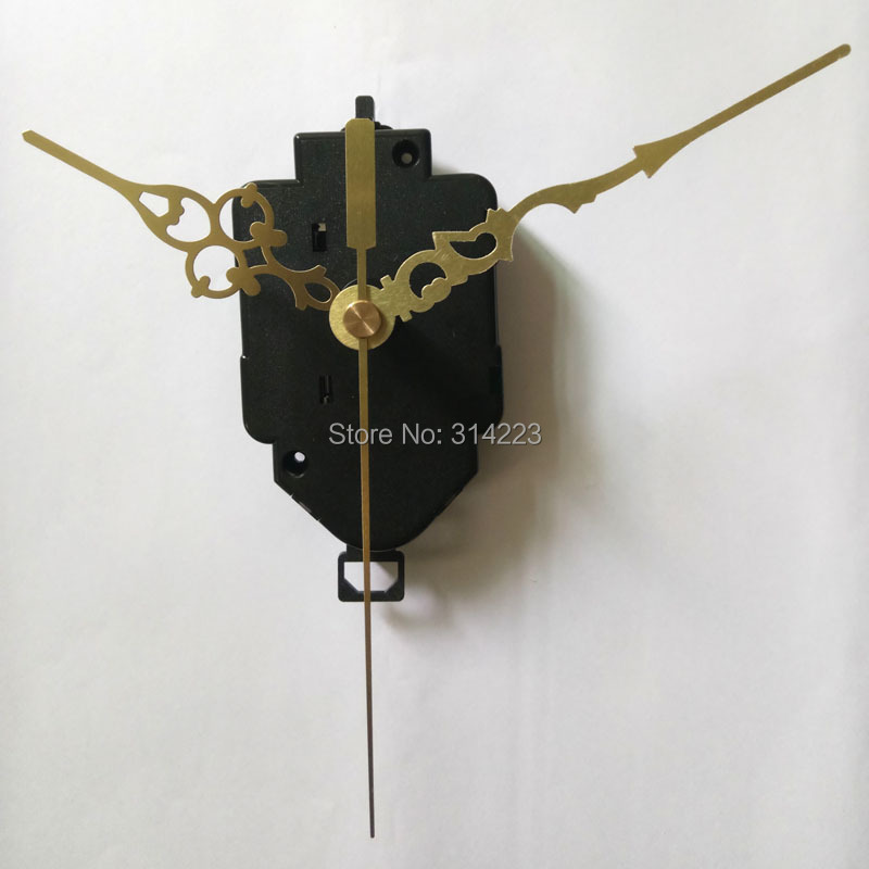 Wholesale! New Swing Movement Quartz Clock Movement for Clock Mechanism Repair DIY clock parts accessories 22mm Free shipping