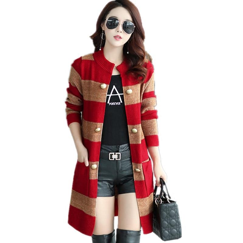 Las mujeres del otoño suéteres casuales sueltan el o-cuello de - Ropa de mujer