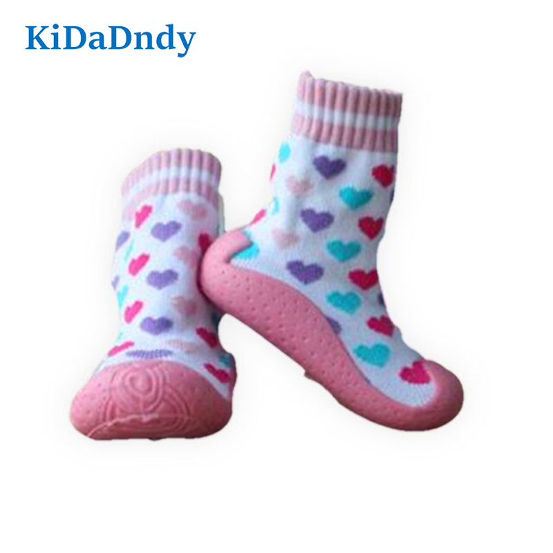 Baby Socks Soft Bottom Non-slip Floor Rubber Soles Toddler Girl Boy Infant Socks GXY003