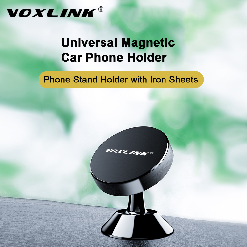 VOXLINK 360 Degree Magnetic Universal Phone Holder In The Car For IPhone X 9 8 Xiaomi  Samsung Huawei  All Models Of Car Bracket
