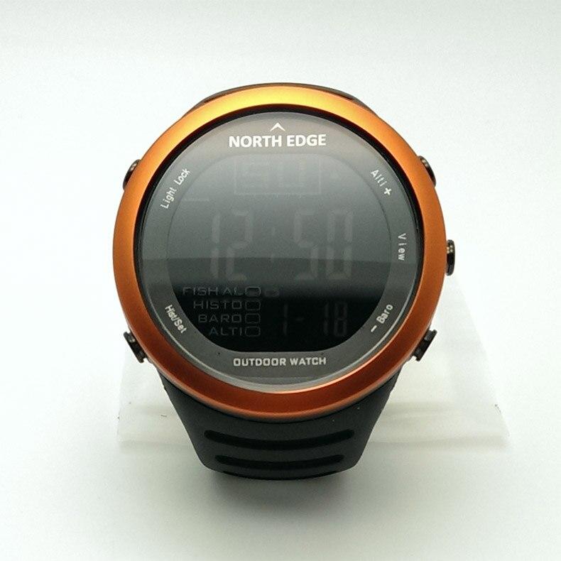 SUNROAD Мужские Цифровые спортивные часы FR861B Barometer часы компас высотомер температура плавательный туристические часы (синий) - 5