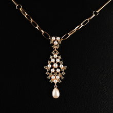 Indian Gold Plated Hair Accessories Bijoux Crystal Imitation Pearl Forehead Jewelry Women Wedding Bridal Hairpins Crown