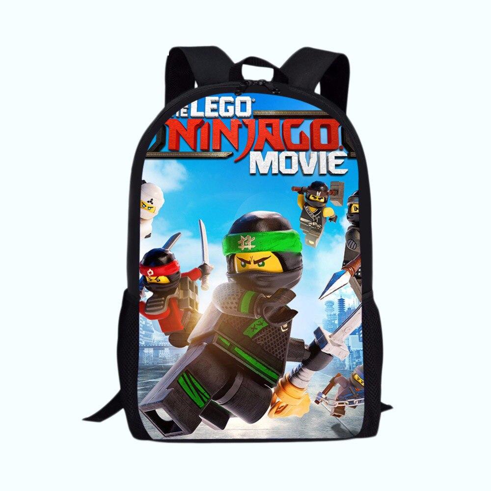 Luggage & Bags Nice Games Ninjago School Bags Rugzak Bag Junior Printing Backpacks Cartoon Shoulder Bags Kids Boys Students Bag School Girl Large To Help Digest Greasy Food Kids & Baby's Bags