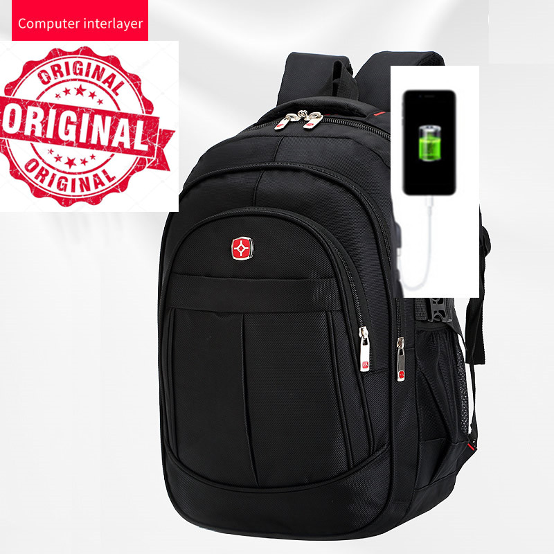 1c3d3928634c Aliexpress.com : Buy Swiss bag sac a dos laptop Backpack usb 17 inch gear  win waterproof big Backpack Large Capacity Men's Travel Backbag Sac Dos  from ...