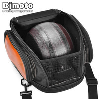 1pcs Universal Motorcycle Oil Tank Bag Tail Saddle Bags Storage Pack Luggage Back Seat Helmet bag