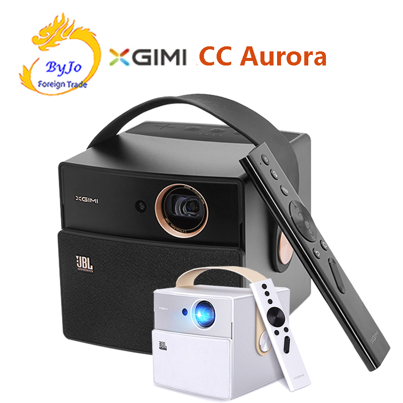 Original XGIMI CC Aurora DLP Mini Projector Android Wifi Shutter 3D Support HD Video With Battery Video projecteur Home Theater everyone gain a18 projetor celular full hd 3d mini video proyector android projector dlp pico battery projecteur game portatil