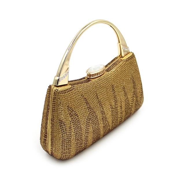 Ladies Glitter Evening Clutch Bag