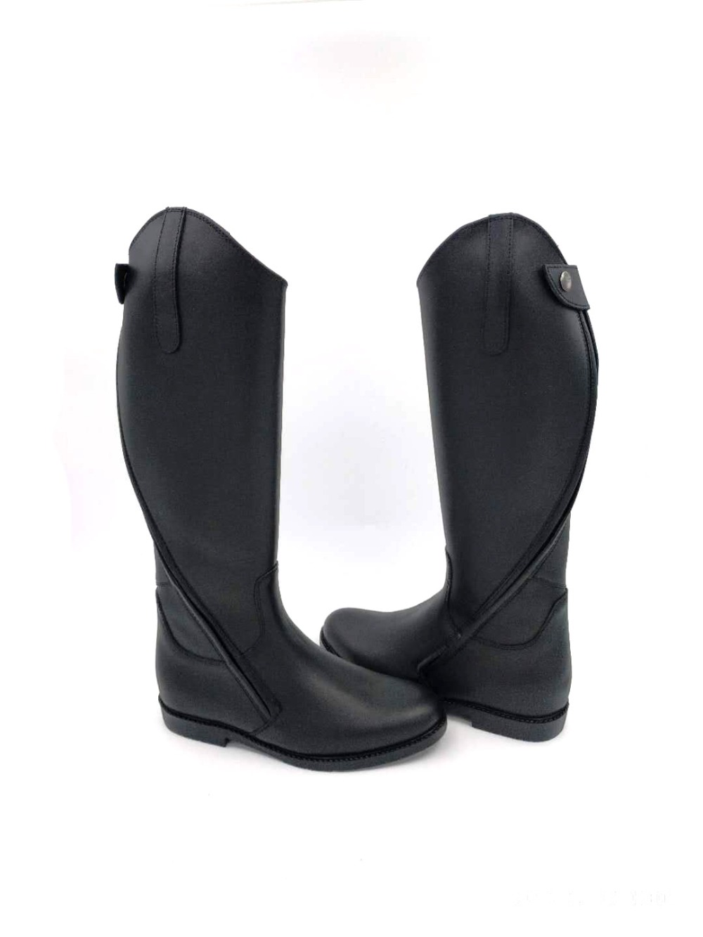 Aoud Saddley Horse Riding Boots Full Leather Dressage Boots Equestrian Boots  Parksy Zipper Shoes Horse Racing Equipment Halter
