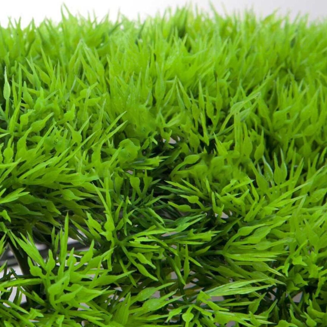 Top Sale Artificial Plastic Lawn Water Aquatic Grass Plant Fish Tank Landscape Underwater Beautiful Water Plant Ornament